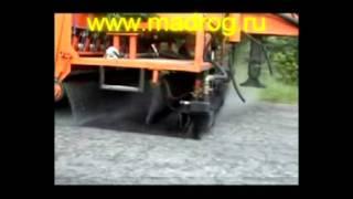 Madrog Rus(Дорожный комбайн KD 3D — современная машина для поверхностной обработки дорог заменяет комплект двух машин:..., 2011-08-10T12:12:05.000Z)