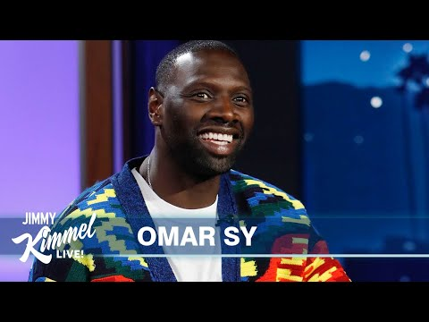Omar Sy on Lupin's Popularity in America & Learning English from the Kardashians