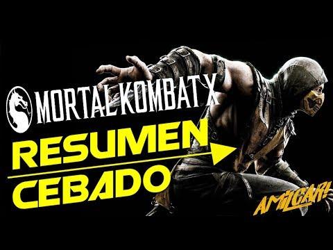 Mortal Kombat X  Resumen Cebado