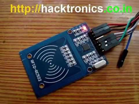 NXP RC522 based MiFare NFC RFID Reader Demo using Arduino