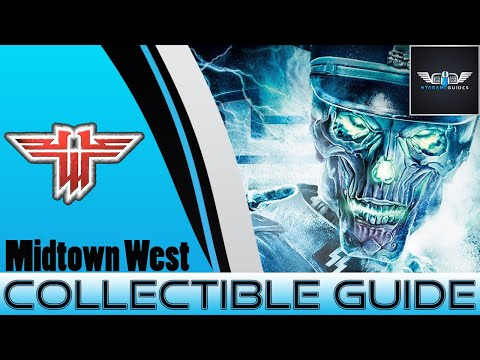 Wolfenstein - All Gold, Intel, Tomes Collectible Guide - Midtown West