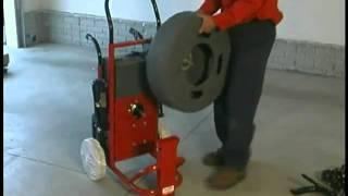 Duracable Mfg Drain Machine - Model DM175 Assembly