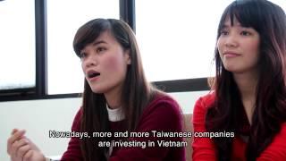 Lynn and Jessica Studying at Chung Yuan Christian University, Taiwan (Vietnamese Language) thumbnail