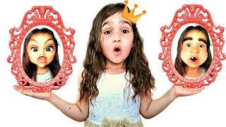 Алиса и волшебное зеркало меняющее внешность