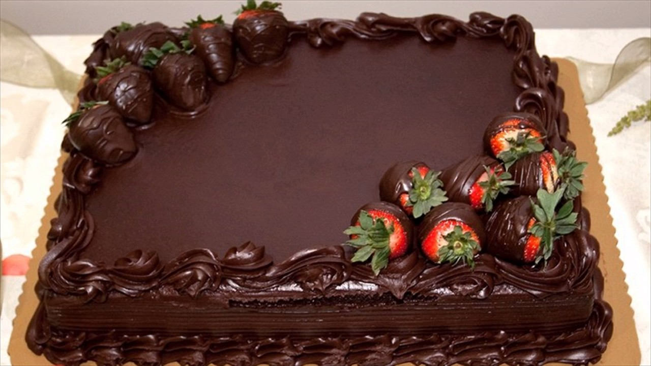 Happy New Year Strawberry Cake Wallpaper Youtube