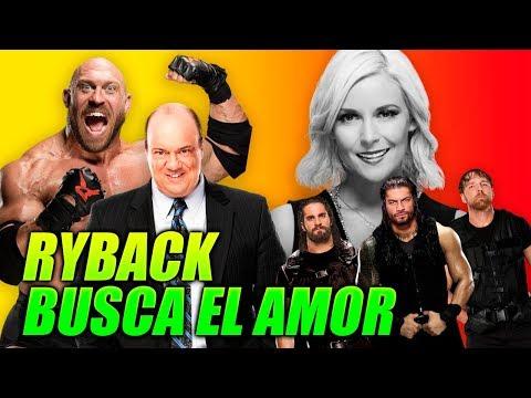 QUE SAD! WWE RYBACK En BUSCA Del AMOR, The Shield Al Ataque! Komiload1