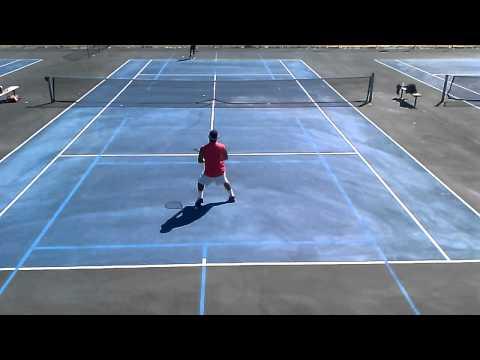 3/21/15 tennis match, part 1 of 5