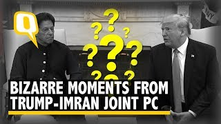 All The Bizarre Moments From Trump  Mran Joint Press Conference  The Quint