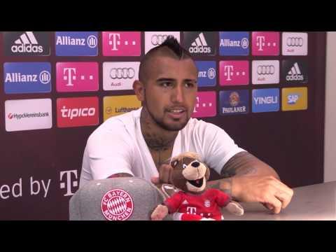 Reportaje Arturo Vidal en Munich