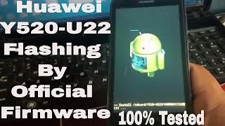 How To Flash Huawei Y520-U22 By SD Card (Dead After Flash Repair/Recover Done) Resimi