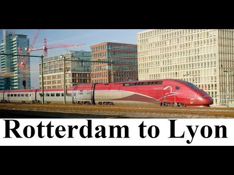 Europe Express/Rotterdam To Lyon/Traveling By Train  Part 1
