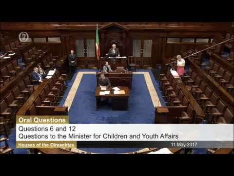 Tommy Broughan TD questioning Minister Katherine Zappone on aftercare