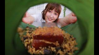 大肉粽!4大勺糯米2大块肉,连吃几个都嫌不够 ...
