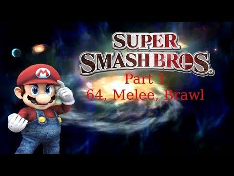Super Gaming Bros (SGB) Super Smash Bros. Highlights! Part 1 - 64, Melee, Brawl