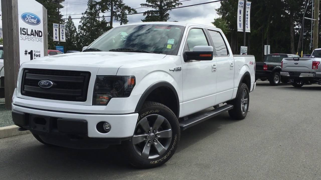 2013 ford f 150 fx4 v8 supercrew 4x4 moonroof review island ford