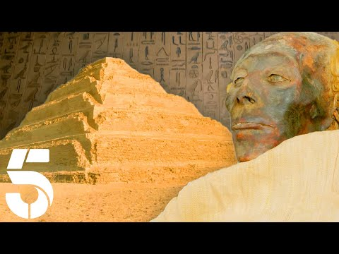 Inside The First Ever Pyramid of Egypt | The Nile: Egypts Greatest River | Channel 5