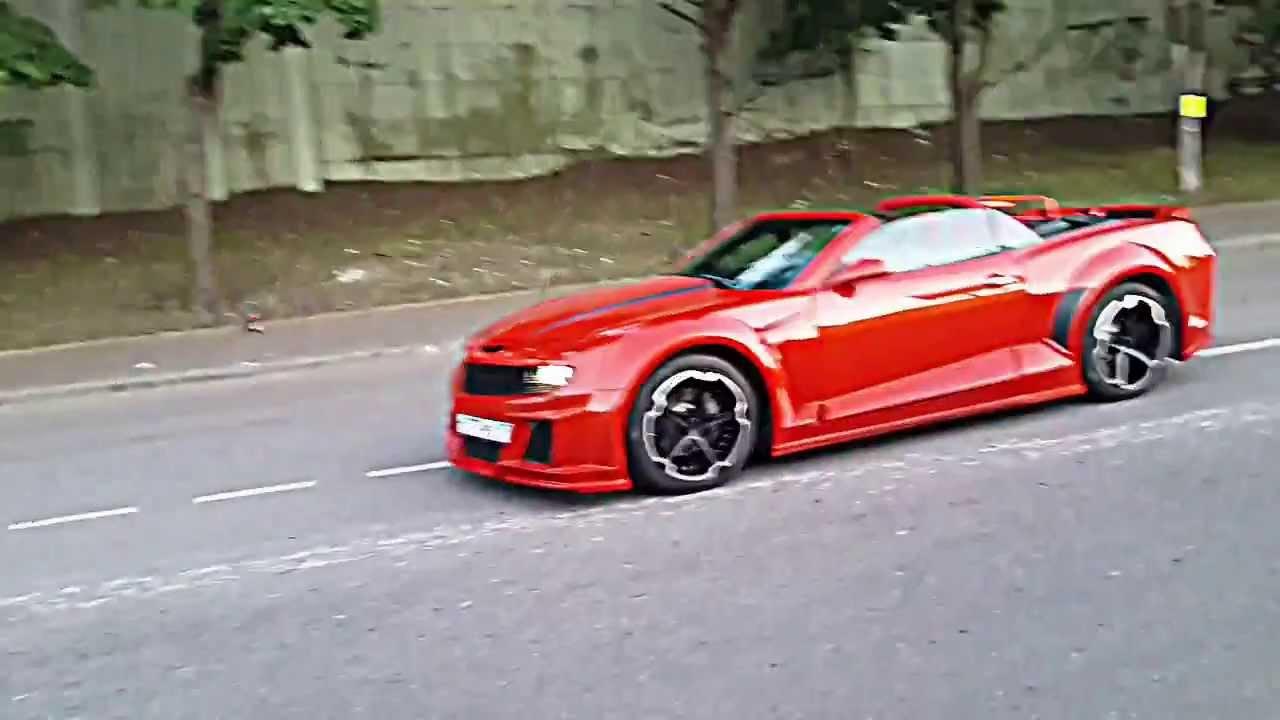 Chevrolet Camaro Bodykit >> Camaro bomex - YouTube