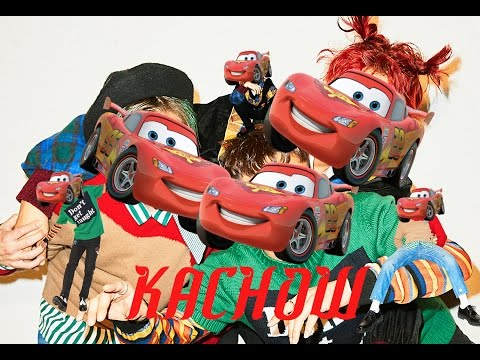 EXO-CBX Ka-CHING! Music Video but everytime they say Ka-CHING! it says KACHOW! instead