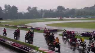 Start RACE 4 STROKE 150cc OPEN Satria FU vs Vixion vs CBR150 SENTUL