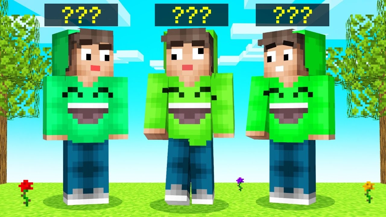 Only ONE Is The REAL JELLY In MINECRAFT GUESS WHO...