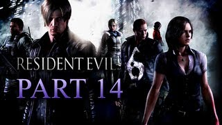 Resident Evil 6 Walkthrough Part 14 [Xbox 360 / PS3 / PC]