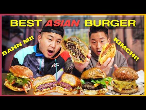The Best ASIAN BURGER: Korean VS Vietnamese VS Filipino