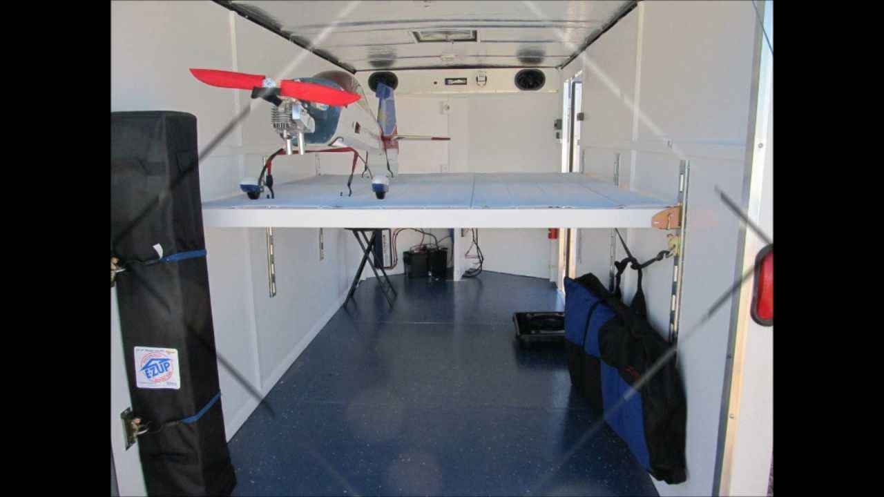 Mike S Man Cave Trailer Youtube