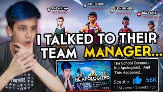 So I talked to the School Computer kids team Manager... thumbnail