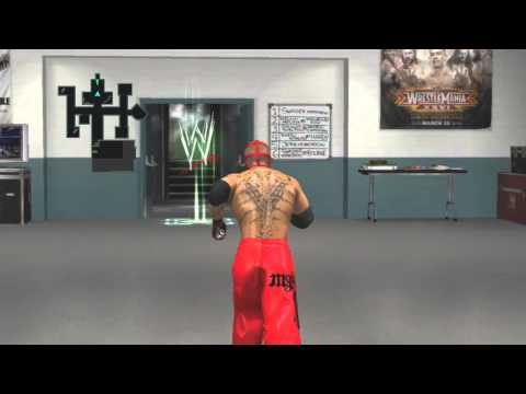 WWE Smackdown Vs Raw 2011 Road To WrestleMania Mysterio - Part 12 - Bourne Got Screwed