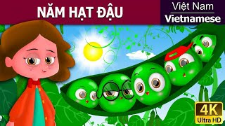 Five Peas in Vietnam - chuyen co tich - 4K UHD - truyện cổ tích việt nam - Vietnamese Fairy Tales