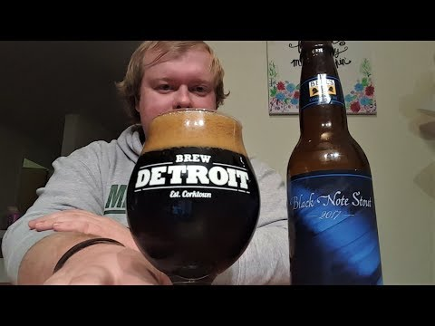 Bell's Brewing Co. - Black Note Stout (2017) :: WHALE HUNTING SEASON!