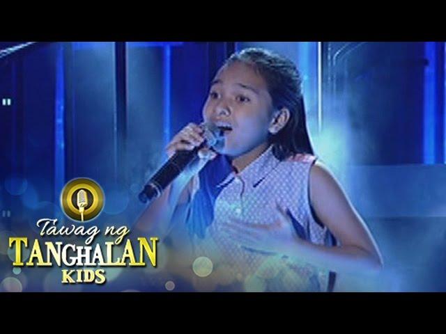 Tawag ng Tanghalan Kids: Mydia Mabascog   May Bukas Pa