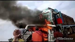 Maruti ven live accident 2018 India