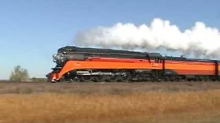 SP 4449 westbound thru Montana
