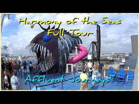 Harmony of the Seas Full Tour