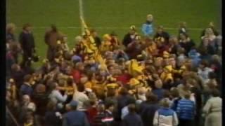 BK Häcken - Allsvenskt kval 1982 - borta mot IFK Norrköping