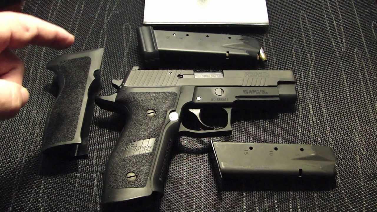 Sig Sauer P226 Elite 9mm Tac Ops Conversion