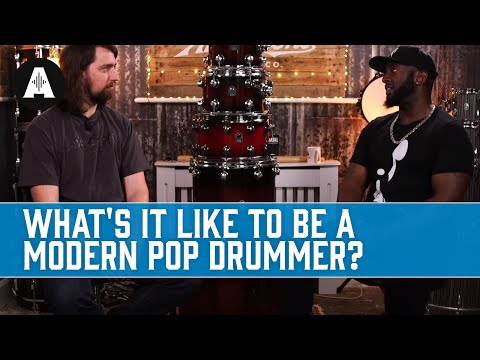 What's It Like To Be A Modern Pop Drummer? - Rob Meets Julian Chambers