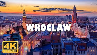 Wroclaw, Poland 🇵🇱  4K Drone Footage