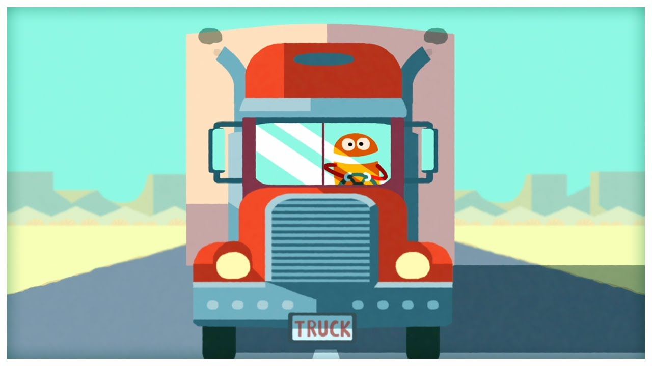 Quot Drive A Truck Quot The Truck Song By Storybots Youtube