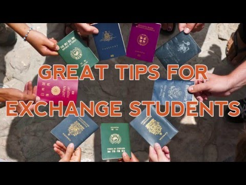 Great Tips For Exchange Students