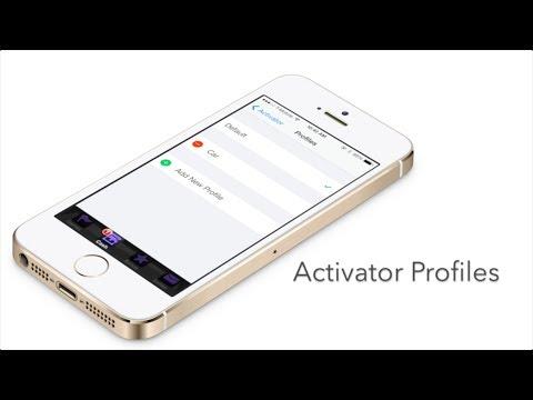Activator: new Profiles option