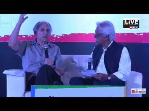 Dialogues - Quality of chines leadership is much better. Arun Shourie  #TJ2017