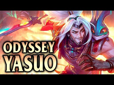 Odyssey Yasuo Mid! How To Carry with Yasuo - League of Legends S8 thumbnail