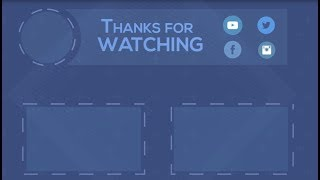 TOP 5 OUTRO TEMPLATES (NO TEXT)+FREE DOWNLOAD