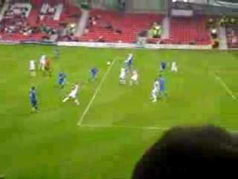 Shane Smeltz 2nd goal v Wales