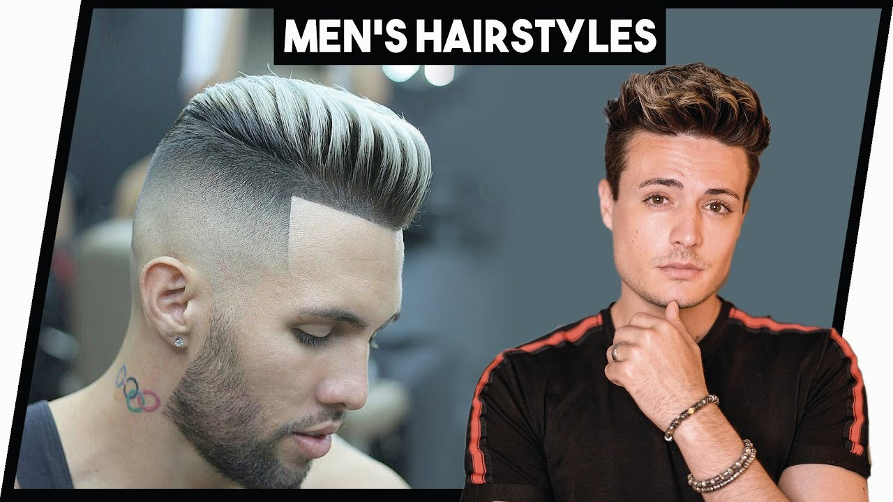 5 Awesome Hairstyle Tutorials for Men 2018 (EP.2) | Mens Hair 2018 ...