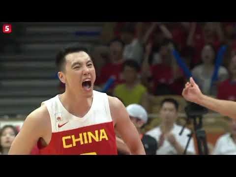 中巴国际男篮对抗赛2:中国VS巴西 | 全场录像 | 201908025