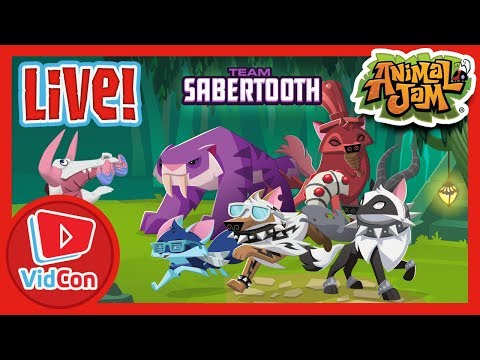 LIVE From VidCon - Day 1! | Animal Jam & Play Wild