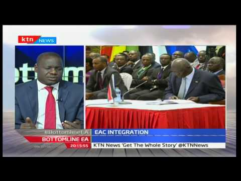 BottomLine East Africa: Ethic cleansing in South Sudan with Michelle Ngele 02/12/2016